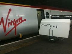 AidPod on Virgin Trains Euston