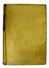 Front cover of vellum binding for Thomas Aquinas: Summa theologiae: Secunda pars, prima secundae