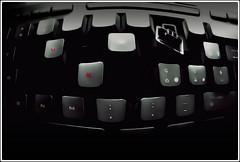 Made in UK (oops) (Davide-/-) Tags: red wild white black broken photoshop dark nikon keyboard scream oops deviant lucid doh dx d3000 tastira davidem 14122009