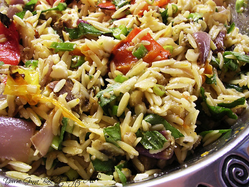 You're Gonna Bake It After All: Roasted Vegetable Orzo