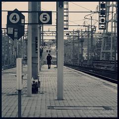 forsaken () Tags: street portrait man cold guy andy station train walking photography solitude strada andrea tracks andrew uomo lonely fotografia stazione ritratto treno freddo binari solitudine benedetti cammina nikond90