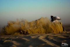 let's make some dust (<\| AbdulAziz Photo |\>) Tags: moon tourism cycling desert east saudi arabia half dust ksa  khobar dammam