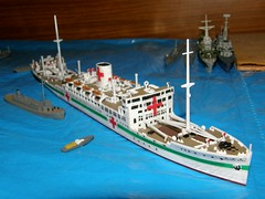 1/700 IJN hospital ship Hikawa Maru by Hasegawa (szogun000) Tags: scale hospital japanese model ship poland polska olympus plastic kit passenger naval waterline wroclaw hasegawa 1700 liner hikawamaru 502 wrocaw ijn lowersilesia dolnolskie dolnylsk imperialjapanesenavy sp550uz waterlineseries