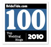 Bride Tide Top 100 Blog (and Twitter) To Follow For 2010! via TheELD.com
