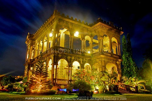 Lacson Ruins at Night 1