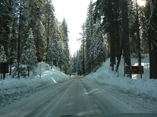 Which Road Should You Take into Yosemite in Winter?