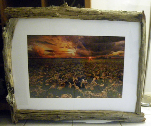 Fence Post Frame w/ Marcellini Photo
