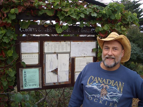 Bill Murphy and the Corwin Street Community Garden