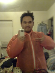 Orange jumpsuit for rally tomorrow #teamconan