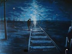 doom remake 2 (emy mariani) Tags: azul mural arte graffitti doom pincel