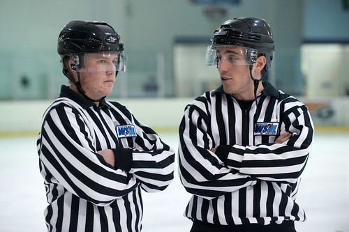 matt robinson jr. Linesmen Matt Biagi and Matt Robinson