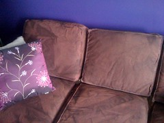 Done dyeing the couch