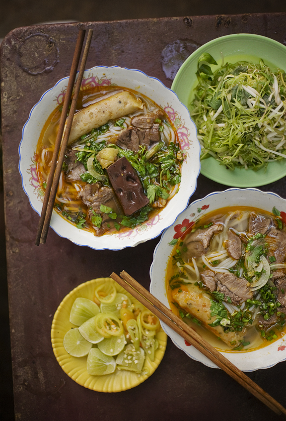 Saigon Bun Bo Hue Lunch Lady