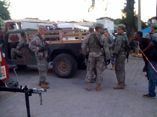 U.S. Armed Services in Haiti