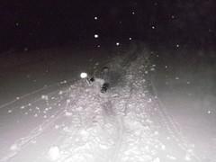 Riktigt mycket snö denna vinter.