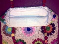 Hexagons Bag - Finally completed (LauraLRF) Tags: thread bag crochet cotton hexagon hilo cartera bolso algodon tejido ganchillo hexagonos