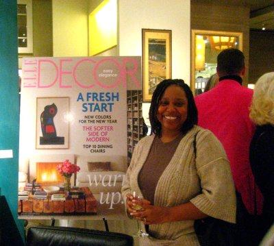 Elle Decor Event at Gump's