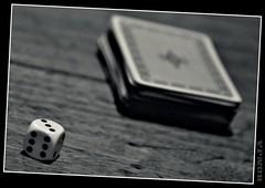 let s play cards (ronjaa photography) Tags: bw playing netherlands cards pub arnhem cube sw würfel kneipe 2010 niederlande arnheim zocken karten ronjaa