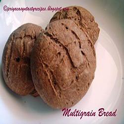 Priya's Eggless Multigrain Bread