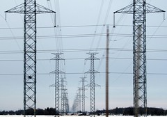 March of the Aliens :-() (SamSpade...) Tags: winter ontario lines canon highway power aliens 317 1612 supershot abigfave