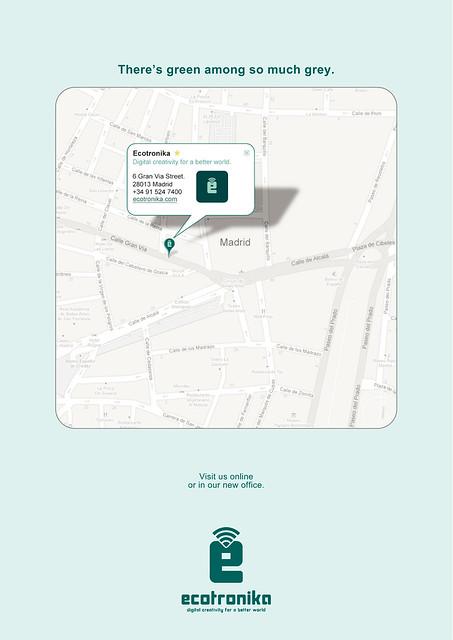 Ecotronika the greenvertising agency in Madrid by Ecotronika