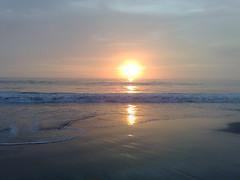 Atardecer en Playa al Sur de Lima