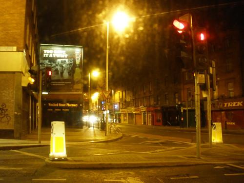 Dublin at night..