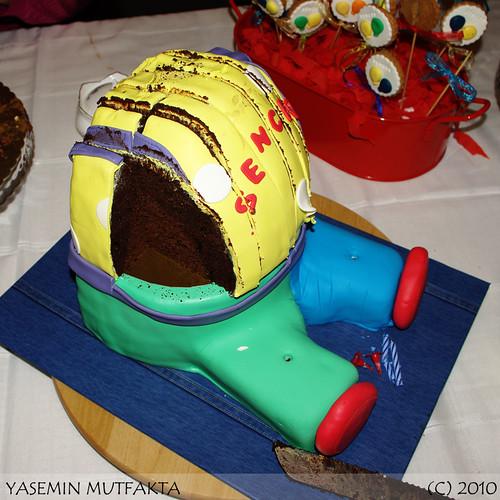 Pasta Kesilmiş Hali