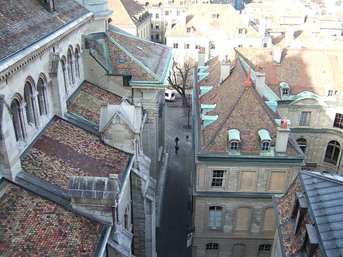 Geneva from Top of Cathedral