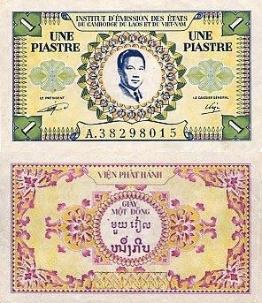 1 Piaster Francúzska Indočína 1953
