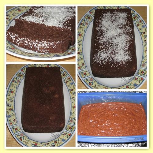CAKE RAPIDO DE CACAO EN MICRO