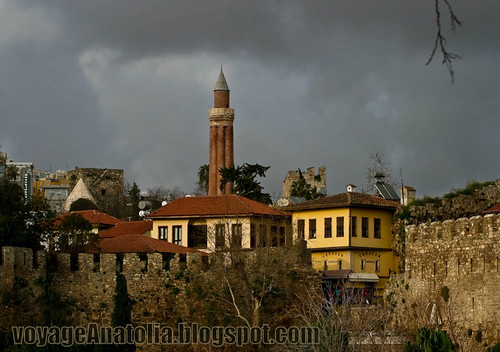 Antalya Citadel by voyageAnatolia.blogspot.com