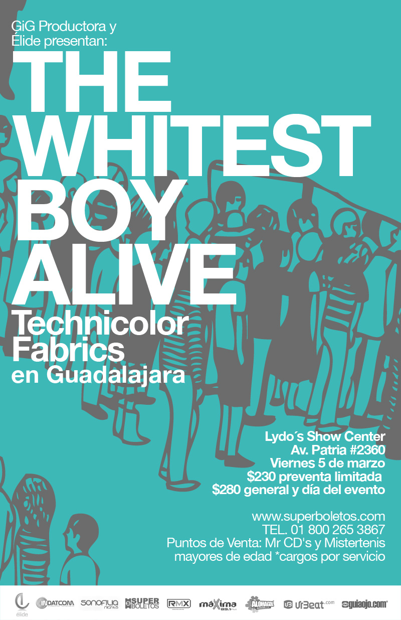 THE WHITEST BOY ALIVE