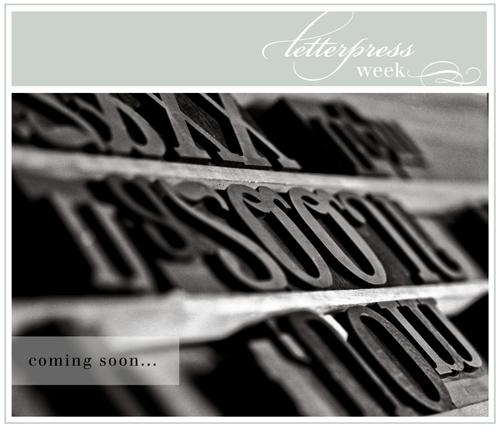 ( letterpress week )