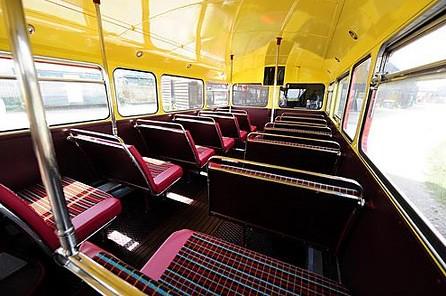 Bus Routemaster upper
