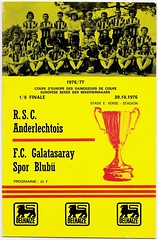 ANDERLECHT v Galatasaray [1976-77] ECWC 2 (bullfield) Tags: anderlecht rscanderlechtois belgium galatasaray turkey europeancupwinnerscup coupedeuropedesvainqueursdecoupe 1976