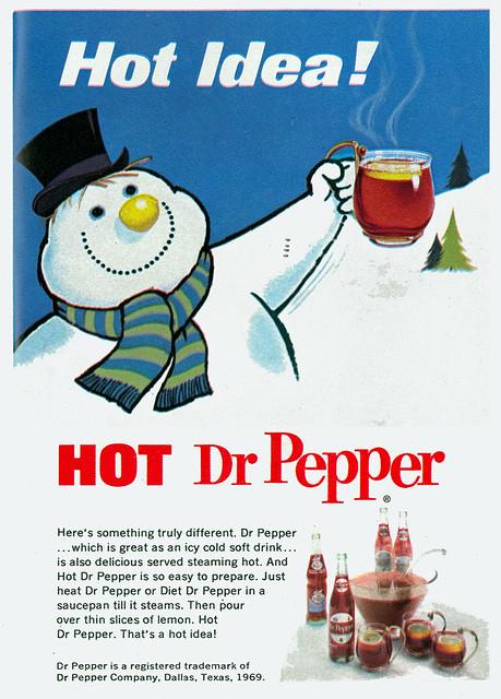 Dr Pepper Hot Ad