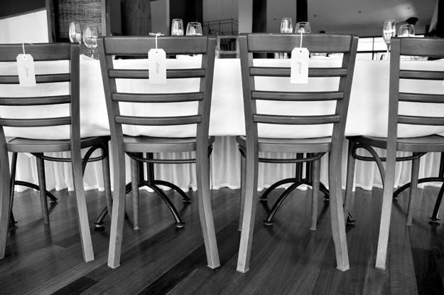Chairs b&w