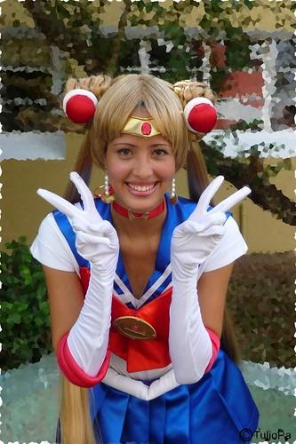 Koneko-tan Cosplay Sailor Moon