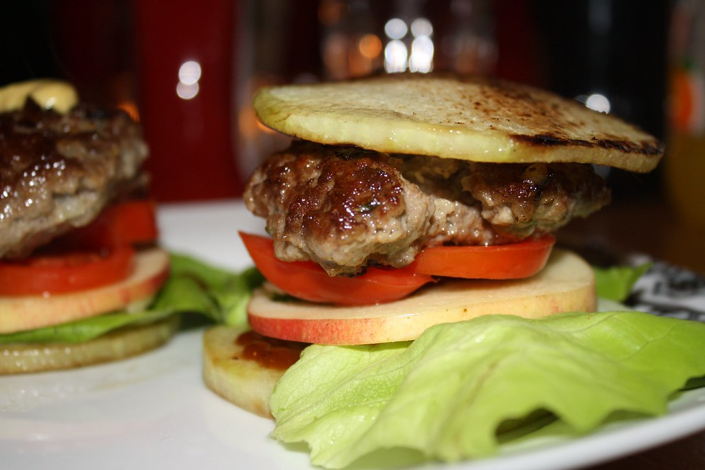 low carb chicken hamburger