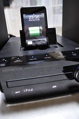 KENWOOD K521 iPod touch