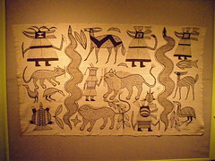 _Wall hanging_Senufo people (Korhogo Cote d'Iv...