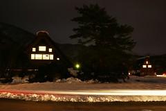 Night @ Shirakawago (白川村) (chee_hian) Tags: japan night farmhouse sony 岐阜 gifu unescoworldheritage shirakawago 世界遺産 白川村 gasshozukuri sonyalpha alpha900 合掌