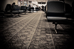 Sitting at the airport waiting on a second flight