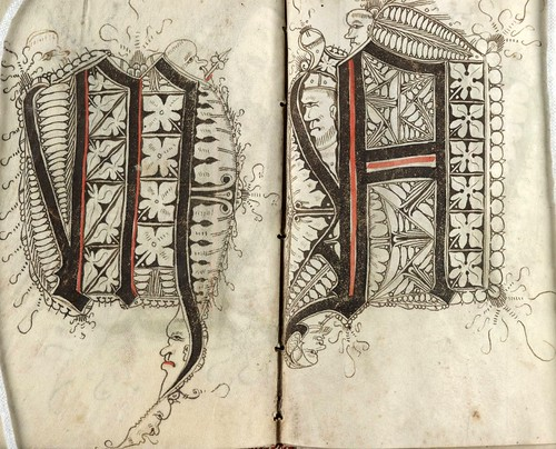 021-The Scribal Pattern Book of Gregorius Bock-1510-1517