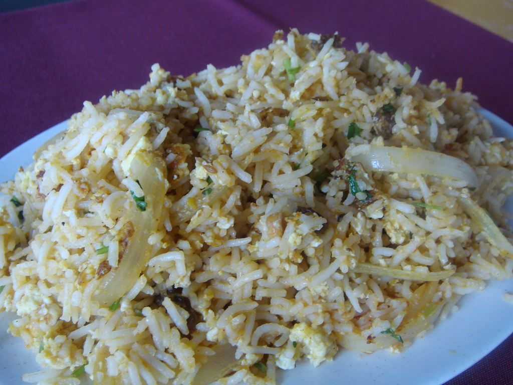 Egg & Onion Biryani