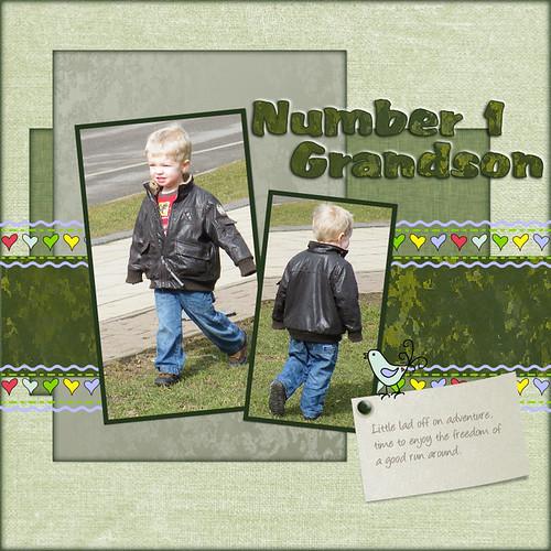 Number 1 Grandson