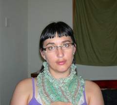 How you wear the Moebius scarf