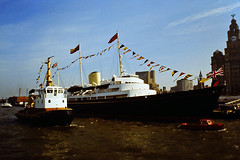 Royal Yacht Britannia (David Chennell - DavidC.Photography) Tags: liverpool pierhead royalyachtbritannia rivermersey liverpoolwaterfront