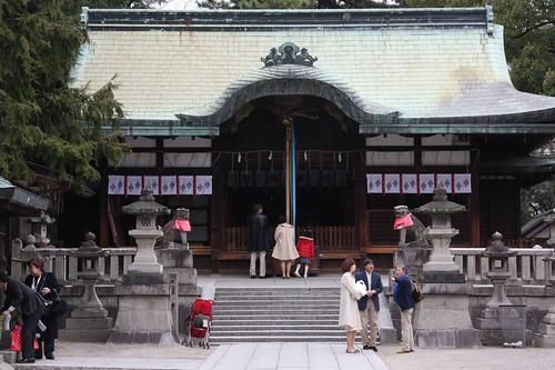 茨木神社 拝殿